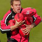 The tryouts for the St. Kilda Saints ball boy position were beyond grueling.