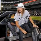 Always the gentleman, Kid Rock got out to apologize to the crowd at U.S. Cellular Field after he drove his Chevrolet El Camino through the infield.