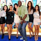 The Lakers' forward experiences one of the benefits of being married to a Kardashian -- he gets to attend the Teen Choice Awards.