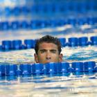 The Olympic icon's noggin was seen floating serenely in a pool at the William Wollett Jr. Aquatics Center in Irvine, Calif., after a 200-meter backstroke on Aug. 7. Divers are reportedly still searching for the rest of Phelps.