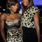 The tennis fashion plates lit up the BlackBerry Torch Launch Party in Los Angeles.