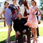 Thoroughbredly enjoying his retirement, the 2008 Kentucky Derby and Preakness winner was spotted sparking around with three fancy fillies (socialite Kate Waterhouse, model Alexandra Agoston and 2009 Miss Australia Rachel Finch) in Sydney.