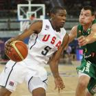 With LeBron James, Dwyane Wade and Carmelo Anthony staying home, Team USA is Kevin Durant's to lead. The 6-foot-9 forward was the NBA's 2010 scoring champ (30.1 points) and was named All-NBA first team in just his third year. With an undersized supporting cast, Durant will likely play a lot of power forward during the 2010 tournament, creating even more matchup problems for opposing teams than the superstar already creates in the NBA. An incredible athlete, shooter and finisher, Durant is the complete package.