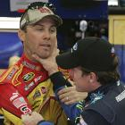 The carryover from an Oct. 5, 2008 incident at Talladega found Carl Edwards and Kevin Harvick in a shoving match three days later in the garage at Charlotte Motor Speedway.