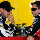 """In August 2012, the two drivers were fighting for the lead at Bristol with calamity lurking for most of a lap when they finally collided and hit the wall.After they came to a stop, a furious Stewart climbed out and heaved his helmet at Kenseth's car as it drove off. """"I'm going to run over him every chance I get for the rest of the year,"""" Stewart groused. You can watch the video HERE"""