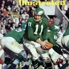 """""""The Dutchman"""" led the Eagles to an NFL Championship in 1960, the same year he was named NFL MVP. Van Brocklin won passing titles in 1950 and 1952 and was named to nine Pro Bowls.  Runner-up: Phil Simms    Worthy of consideration:   Drew Bledsoe, Larry Fitzgerald, Danny White"""
