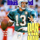 With 61,361 yards passing and 420 touchdowns, Marino is the second most prolific passer in NFL history. He was the first player to pass for 5,000 yards in a season and finished 13 seasons with at least 3,000 yards passing. He was selected to nine Pro Bowls and led the Dolphins to a Super Bowl appearance in the 1984 season.  Runner-up: Kurt Warner  Worthy of consideration: Dave Jennings, Don Maynard, Frank Ryan, Ken Riley, Jake Scott