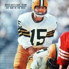 The great conductor of the Packers offense, Starr won NFL Championships in 1961, 1962, 1965, 1966 and 1967. He was named MVP of the first two Super Bowls.  Runner-up: Steve Van Buren  Worthy of consideration: Jack Kemp, Earl Morrall, Jim Turner