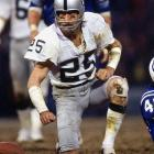 A sure-handed receiver for the Raiders, Biletnikoff had 589 career receptions for 8,974 yards and 76 touchdowns. He was the MVP In Super Bowl XI.  Runner-up: Tommy McDonald  Worthy of consideration: Eric Davis, Haven Moses, Louis Oliver