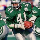A fullback with soft hands and precise route-running, Byars had 610 career receptions for 5,661 yards and 54 touchdowns during his 13-year career.    Runner-up: Lorenzo Neal  Worthy of consideration: Tom Matte, Terence Newman, Matt Snell, Eugene Robinson, Charlie Waters