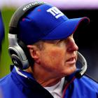 "One of these days, Coughlin's cheeks are bound to show up on an injury report. That is, ""Coughlin. Red cheeks. Doubtful."" Really, now, somebody get this man a muffler and some ear muffs. Come winter games, it hurts to look at him."