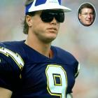 "Jim McMahon struggled in his one season with the Chargers, in 1989. At one point, the brash quarterback responded to a question from San Diego reporter T.J. Simers by blowing his nose on him. Simers, now working for the  Los Angeles Times , caught up with McMahon at a celebrity golf tournament in July 2010. McMahon told Simers, """"(NFL commissioner Paul) Tagliabue tried kicking me out of the league for that. I told him it was either that or hitting you in the head, and I already had enough problems with cops."""