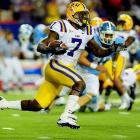 Last Week: Four punt returns, 157 yards, one TD; three kick returns, 100 yards; five tackles, 1/2 tackle for loss in a 30-24 win over North Carolina  He hasn't returned kicks since high school, but Peterson showed little rust. He recorded 244 of his 257 combined return yards in the first half, including an 87-yard punt return for a touchdown. He was facing a UNC special teams group depleted by suspensions, but he clearly helped his Heisman candidacy, eliciting more than a few comparisons to Charles Woodson from those in the press box.  Next Up: Saturday at Vanderbilt