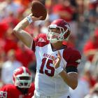 Last Week:  21-of-33 passing for 380 yards and three TDs; two rushes for minus-4 yards in 31-24 win over Georgia.   Season:  70-of-100 passing for 1,081 yards, nine TDs and two INTs; 11 rushes for minus-3 yards.  Mallett ramped up his candidacy and silenced his critics by delivering his first career SEC road win between the hedges. Big Tex delivered three big throws in the final drive, culminating in the game-winning touchdown pass to  Greg Childs  with 15 seconds left (prime highlight-reel material should he earn an invitation to NYC). Mallett could make a play for the top spot on this list with No. 1 Alabama coming to Fayetteville.   Next Up:  Saturday vs. Alabama
