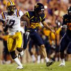 With their offense stalling, LSU used defense and special teams to outlast West Virginia. The Tigers jumped out to a 17-0 lead in the second quarter, highlighted by Patrick Peterson's 60-yard punt return for a touchdown. With the win over the Mountaineers, LSU improves to 4-0.