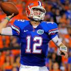 The Gators finally got the breakout performance they craved during the non-conference slate, erupting for 466 total yards and 27 second-half points against the Wildcats. QB John Brantley threw for 248 yards and one touchdown for Florida, which travels to No. 1 Alabama next week.