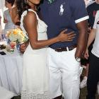 Gabrielle Union and Dwyane Wade took a break between polo chukkers to do a little schmoozing for the camera at Blue Star Jets Field at Two Trees Farm in Bridgehampton, N.Y.