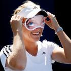 A wily pro, Ms. Oudin well knows that when you play Ellen Degeneres at the U.S. Open, it's wise to do all you can to neutralize her comedic edge.