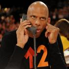 """Overheard at Sony Pictures Studios on Sept. 10:   Kareem:  """"Just remember, my name is Roger Murdock. I'm an airline pilot.""""  Voice on phone:  """"I thought you were the greatest, but my dad says you didn't work hard enough on defense. And  lots of times you didn't even run down the court, and you didn't really try...except during the playoffs...""""  Kareem:  """"The hell I didn't! Listen, kid! I've been hearing that crap ever since I was at UCLA. I was out there busting my buns every night. Tell your old man to drag Walton and Lanier up and down the court for 48 minutes..."""""""
