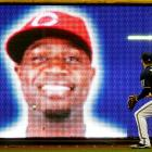 The Brewer outfielder had a metaphysical moment in Milwaukee's Miller Park on Sept. 22. However, conjuring spirits did nothing to help the visiting Cincinnati Reds, who lost 13-1.