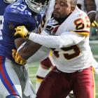 Santana Moss received treatment from Galea and was the unnamed NFL player in an affidavit that surfaced in connection with the criminal complaint filed against the doctor.  Moss maintains that his treatment was routine.