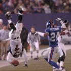 Vick returned from injury to play the final five games of the the 2003 season. In 2004, he made his second Pro Bowl after throwing for 2,313 yards and gaining another 902 yards on the ground (third all time by an NFL QB). The Falcons would finish 11-5 and advance to the NFC Championship Game, where they were defeated by the Eagles.
