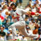 If asked in March to name the player most likely to win a Triple Crown, you'd pick Pujols every year. Indeed, Prince Albert is no stranger to the Triple Crown chase. In 2003, at the age of 23, he led the majors with a .359 average while falling just four homers and 17 RBIs short of National League leaders Jim Thome and Preston Wilson (another Rockie who drove in 84 of his 141 runs at home). In 2009, Pujols led the majors with 47 homers, but fell just six RBIs short of co-leaders Ryan Howard and Prince Fielder and 15 points behind batting leader Hanley Ramirez.