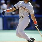 At 23, Sheffield arguably came closer to the Triple Crown than any other player since Yastrzemski last won it. Yes, Sheffield only led the league in batting average and didn't even finish second in either of the other two categories, but he fell just two home runs and nine RBIs short of the NL leaders in those statistics (Fred McGriff and Darren Daulton, respectively), gaps he might have closed had he not broken a finger with six games left on the schedule, or if Tony Gwynn, who hit ahead of Sheffield in the Padres' lineup, not missed most of the final moth with a knee injury.