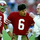 """He backed up Steve Grogan, Joe Montana, Randall Cunningham and Phil Simms and started just 19 games over a 13-year NFL career. Sure, you might have chuckled watching Hard Knocks when Cavanaugh lectured Mark Sanchez about knowing what it took to be a """"starting"""" quarterback in the league, but the guy was reliable, efficient and a pro. He also won a pair of Super Bowl rings in 1984 (49ers) and 1990 (Giants)."""