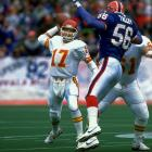 It's true that almost is only good enough in horseshoes, hand grenades and Steve DeBerg. He was almost the featured starter in San Francisco. Then along came Joe Montana. He was almost the man in Denver. Then along came John Elway. And eventually he was replaced by Steve Young in Tampa Bay and Dave Krieg in Kansas City. But the guy could play and was on the Super Bowl roster with the Falcons at age 44.