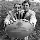 Monday Night Football was launched in 1970 with Howard Cosell and Don Meredith as commentators. With the introduction of sports as a prime time programming option, and the addition of Frank Gifford to the broadcast booth in 1971, ABC's Monday Night game became a fixture of the American sports landscape.