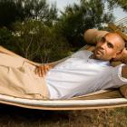 Just chillin' in the hammock. No big deal.