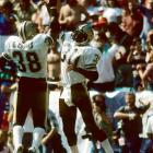 A dominant college player at South Carolina and the 1980 Heisman Trophy winner, George Rogers turned in one of his best performances in the pros during Week 1 of the 1983 season. The Saints back ran 24 times for 206 yards and a touchdown and would go on to finish 10th in the NFL that season in rushing yards.