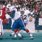 Some running backs come out of the gate stronger than others, which is why we decided to highlight the greatest rushing performance on opening weekend history. Dating back to 1933, no back has ever turned in a better kickoff-weekend effort than Hall of Famer O.J. Simpson. The Bills former bruiser burned the New England Patriots for 250 yards and two touchdowns on 29 carries in a brilliant Week 1 showing.