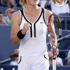 """""""Leave it to an Australian gal (it must be that old-fashioned English Commonwealth thing) to bring us a classic, tasteful and ladylike look. Call me old-fashioned but this is what I think tennis clothes should look like -- well, for the ladies anyway!"""""""