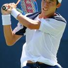 In the longest match of the day on Sept. 2, Kei Nishikori, a 20-year-old Japanese qualifier, pulled off a remarkable 5-7, 7-6 (8-6), 3-6, 7-6 (7-3), 6-1 upset over Marin Cilic. The match lasted a minute shy of five hours, and Cilic was cramping on the court during the later stages.
