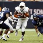 Texas looked sluggish on offense at times, but the outcome against an overmatched Rice team was never in doubt.
