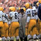 In 1959, the 45-year-old Lombardi was named head coach and general manager of the Green Bay Packers, inheriting a team that went 1-10-1 the previous season. The squad showed immediate improvement and finished with a 7-5 record, earning Lombardi Coach of the Year honors.