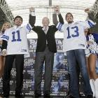 """Cowboys Stadium will be configured for over 50,000 fans for Pacquiao vs. Margarito, with elevated floor seating similar to NBA games. """"Jerry Jones has ushered in a new era in boxing, something 51,000 fans witnessed at Cowboys Stadium last March when Manny defended his welterweight title,"""" Top Rank president Bob Arum said."""