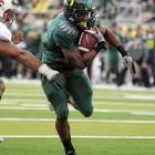 Last Week:  31 carries for 257 yards and three TDs in Oregon's 52-31 win over Stanford.   Season:  89 carries for 712 yards and seven TDs; one reception for nine yards.  How's this for an exclamation point? To ice the Ducks' win over Stanford, James tore off a 76-yard touchdown run -- one of his 16 carries in the game's final 20:39 – to bump his average to 178 yards per game. But if you think those numbers are gaudy, just wait until he faces a Washington State defense that ranks 117 th  against the run and gives up more than 250 yards per game.   Next Up:  Saturday at Washington State