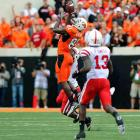 Last Week:  Five receptions for 157 yards and two TDs in 51-41 loss to Nebraska.   Season:  62 receptions for 1,112 yards and 14 TDs; three rushes for eight yards.  Color me impressed. Heading into last weekend, Nebraska's  Prince Amukamara  had been thrown at 19 times in six games and had allowed four receptions. Against Blackmon, he allowed three catches for 129 yards and a TD on six targets, including an 80-yard reception on a flea flicker in which Amukamara got spun around. Amukamara won the game, but the game within the game went to Blackmon.   Next Up:  Saturday at Kansas State