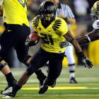 Last Week:  20 rushes for 123 yards and two TDs; one reception for 25 yards in 60-13 win over UCLA.   Season:  134 rushes for 971 yards and 11 TDs; four receptions for 121 yards and one TD.  James continued rewriting the Ducks record book, equaling  Jonathan Stewart 's mark with his 14th career 100-yard game. No runner has been consistently better, as he leads the nation with 161.8 yards per game, but the way Newton's been playing, that's not enough. If he wants to make a real run at the top spot on this list, he needs to deliver a statement. Will he do it against the Trojans?   Next Up:  Saturday at USC