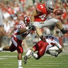 Indiana entered this contest averaging 40 points per game, but Ohio State dominated every facet of play. Terrelle Pryor threw for a career-best 334 yards and three touchdowns while the Buckeyes held Hoosiers quarterback Ben Chappell to 108 pass yards, securing Jim Tressel's 100th victory as Ohio State coach in the process.