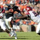 Suffice it to say, this was not your typical SEC defensive struggle. Even with Arkansas star quarterback Ryan Mallett missing most of the game with a head injury, the Hogs and Tigers traded scores for most of this game. That is until backup Tyler Wilson, who threw for 332 yards and four scores in backup duty, threw two costly picks late. Auburn and Cameron Newton -- who should top most Heisman lists after another dominant performance -- made the Hogs pay for those late mistakes.