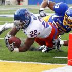 Doug Martin (68 rushing yards, 2 TDs) and the Broncos will likely have to punish all future opponents by 40 or more points to maintain their lofty standing in the BCS rankings (which become public this week). That is, until Boise State's Nov. 26 showdown with Nevada.