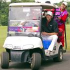 Looks like the Olympic hero has got himself a bonnaroo set of new wheels, which he proudly showed off at a pro-am leisure lifestyle event in Haikou, China.