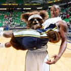 In a shocking development in Salt Lake City, a Utah Jazz player was carried off by a wild and obviously hungry bear that ambled onto the court at EnergySolutions Arena last Saturday.