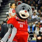 In yet another shocking case of wild animals invading NBA games, a young girl was carted off while the New Jersey Nets battled the Houston Rockets at the Wukesong Arena in Beijing on Oct. 13. Last week, Utah's Al Jefferson was dragged out of EnergySolutions Arena in Salt Lake City by a bear wearing a headband and a basketball uniform. So, if you see something, say something.