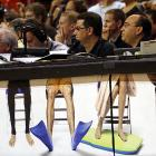 Preseason is a very relaxed, informal time of year for reporter types, especially in Miami, where the Heat battled CSKA Moscow on Oct. 12.
