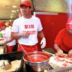 If you've been wondering what the notorious former slugger has been up to lately, he seems to be making a lot of dough toiling at Famiglia Pizzeria in New York City.
